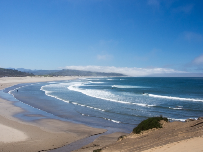 A beach that never gets crowded is one of the great things about the Oregon Coast